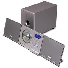 Sistema mini Hi-Fi Teac MC-DX 33 - 10 W RMS - 20 Canale (i) - FM, AM - 2.1 Altoparlante (i) - MP3 - USB - Telecomando