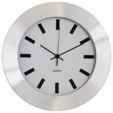 Orologio Parete Alluminio Dm 30cm