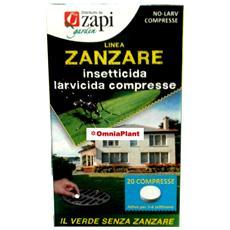 Zanzare Compresse 40gr 20 Compresse