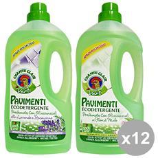 Set 12 Pavimenti Vert Ecodetergente 1 Lt. Cassa Mista Detergent