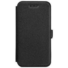 Cover Custodia Book Pocket - Samsung Galaxy A3 (2017) Nero