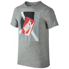 T-shirt Shoebox Jr Grigio Xl