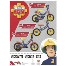 Bici Bimbo 12 Fire Man Sam