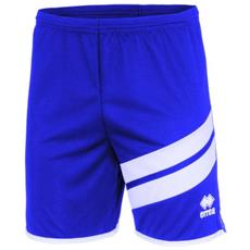Errea Jaro Short Pantaloncino Adulto Azzurro / bianco Taglia S