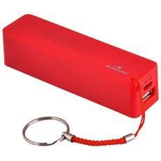 BS-PW-BK2F / R, USB, Rosso, Micro-USB, Smartphone, Tablet, Micro-USB, Apple iPhone Apple iPad Samsung BlackBerry