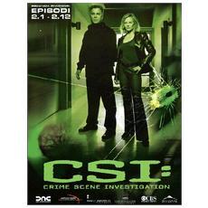 DVD CSI STAG. 02 (ep. 2.01-2.12) (3 DVD)