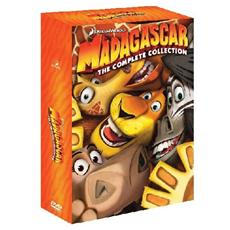 Dvd Madagascar - La Trilogia (3 Dvd)