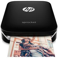 Stampante Fotografica Sprocket Plus 5,8x8,6 cm Bluetooth USB - Nero