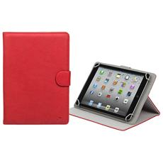 "3017 10.1"" Custodia a libro Rosso compatibile Apple iPad Air"