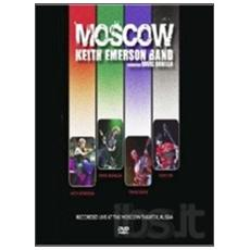 Dvd Keith Emerson Band - Moscow