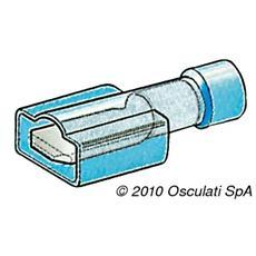 Faston femmina isolati 1-2,6 mm²