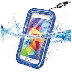 Custodia Waterproof per Galaxy S5 - Blu