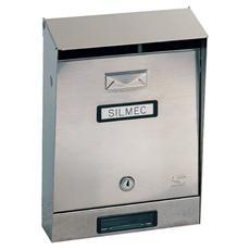 Cassetta Postale Acciaio 22x32.5x7.5/11 cm