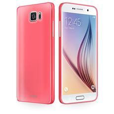 Cover Fluo Rosa Per Samsung Galaxy S6