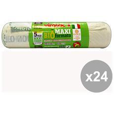 Set 24 Sacchi Bio 70x110 X 5 Pezzi Virosac Riordino
