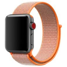 38MM SPICY ORANGE SPORT LOOP