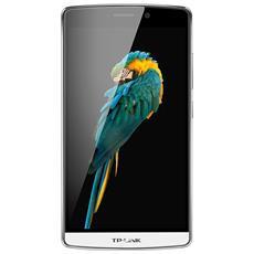 "Neffos C5 Max Bianco 16 GB 4G / LTE Dual Sim Display 5.5"" Full HD Slot Micro SD Fotocamera 13 Mpx Android Italia"
