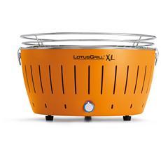 Barbecue XL da Tavolo Colore Mandarino