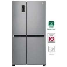 LG - Frigorifero Side-By-Side GSB760PZXZ Total No Frost Classe Energetica A++ Colore Inox
