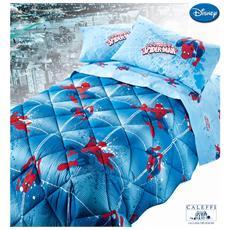Trapunta Invernale 1 Piazza E Mezza Disney Spiderman Power