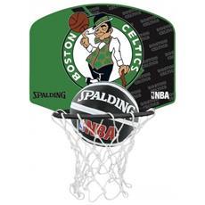 Canestro Miniball Boston Celtics Verde Taglia Unica