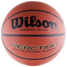 Pallone Wilson B1237x Reaction Basketball Ufficiale