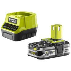 Battery Pack Ryobi 18v 2.5ah Oneplus Lithiumplus E Caricabatterie Rapido 2.0ah Rc18120-125