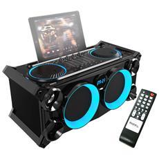 Cellulari & Stereo Indipendenti Con Bluetooth / Usb / Sd / Fm - Ibiza Suono Splbox200-bk