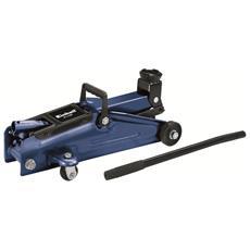 BT-TJ 2000 Cricchetto Idraulico Carrellabile Portata 2000 Kg Colore Blu