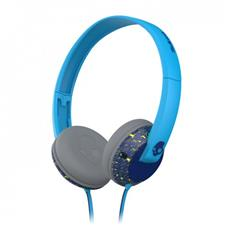 Cuffie Skullcandy Uprock Cavo 40 mm Stereo - Over-the-head - Circumaurale - Navy, Verde lime acceso, Blu acceso - 32 Ohm - 20 Hz - 20 kHz - Placcato Oro - 1,30 m Cavo - Mini-phone