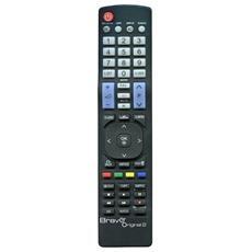 Telecomando Dedicato Tv Lg Nero