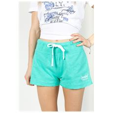 Shorts Ny Donna Fiammato Verde S