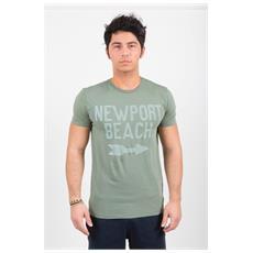 T-shirt Da Uomo Nantucket Verde M