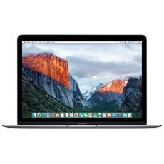"MacBook Monitor 12"" Retina Intel Core i5 1.3 GHz Ram 8GB SSD 512GB 1xUSB 3.1 OS X - Grigio Siderale"