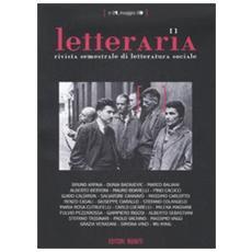 Letteraria. Rivista semestrale di letteratura sociale. Vol. 1