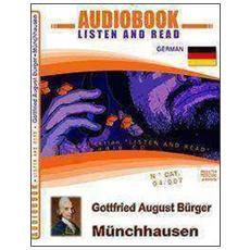 Munchhausen. Audiolibro. CD Audio e CD-ROM