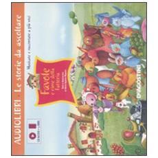 Favole e rime della fattoria. Ediz. illustrata. Con CD Audio