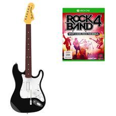 XONE - Rock Band 4 + Chitarra Fender Wireless