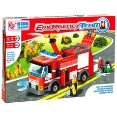 Costruzioni Emergenze Camion Dei Pompieri Mattonciniper Bambini 6 Anni +