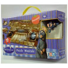 Puzzle Musicale Ratatouille Pile Da Inserire