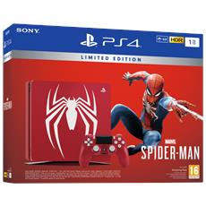 SONY - Console Playstation 4 1 TB Slim + Marvel's...