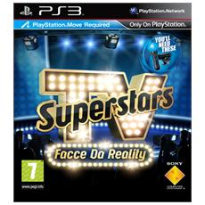 PS3 - TV Superstars Facce da Reality (Software per Playstation Move)