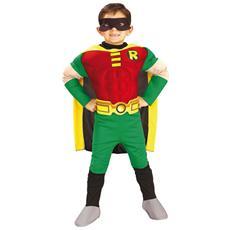 costume robin batman 8/10 con muscoli