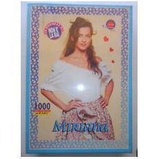 Puzzle Poster - Le Ragazze Di Non E' La Rai - Miriana - 1000 Pezzi - Vintage
