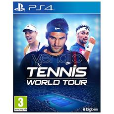 PS4 - Tennis World Tour - Day one: 22/05/18