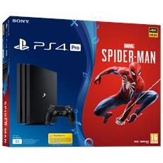 Console Playstation 4 PRO 1 TB + Marvel's Spider-Man Day One: 07/09/18