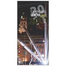Genova di notte. Calendario 2011