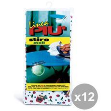 Set 12 Telo Per Asse Da Stiro 145x47 Cm. Art. 0442b Buc