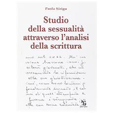 Studio della sessualità attraverso l'analisi della scrittura