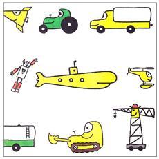 I piccoli libri dei mezzi di trasporto: La nave-Il camion-La ruspa-Il trattore. Ediz. illustrata